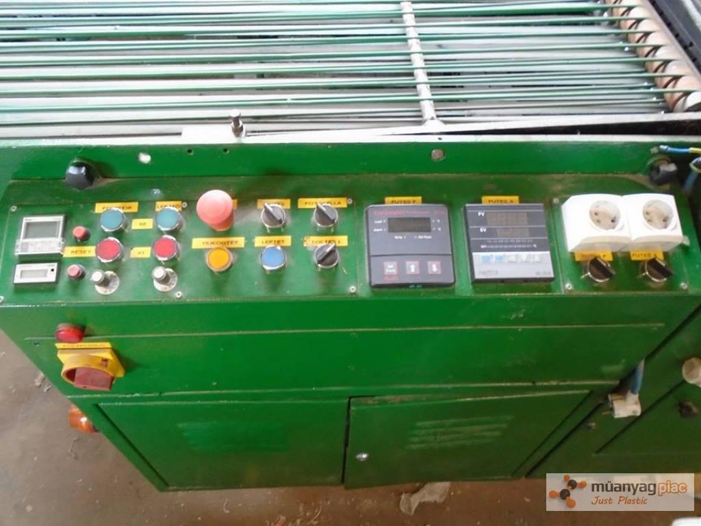 Eladó zsák/zacskó konfekcionáló gép