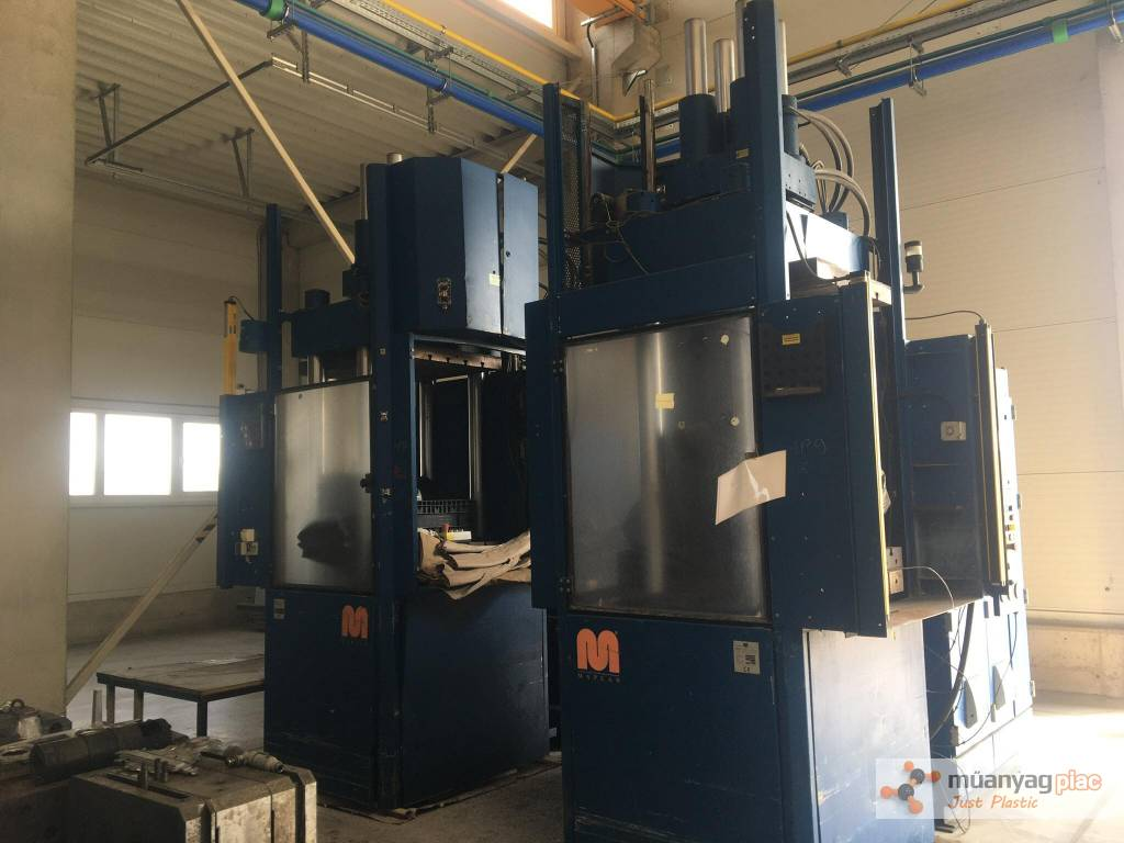 Twin Maplan MTF750/300 Injection Moulding Machines